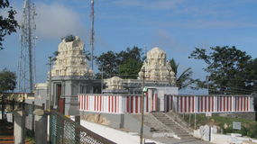 Ein hindischer Tempel Stockfotografie