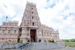 Ein hindischer Tempel Stockfotos