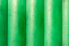 Ein Hintergrund des Grüns hölzern gemalt Stockfoto