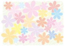 Ein Hintergrund einer Blume Stockfotos