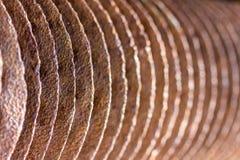 Ein Hintergrund gemacht von den Metallteilen Lizenzfreies Stockbild