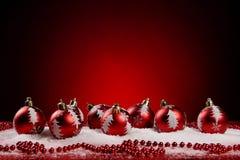 Ein Hintergrund von Weihnachten spielt Aufbau Lizenzfreie Stockfotografie