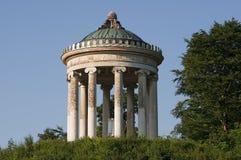Ein historisches pavillon in München in Deutschland Stockbild