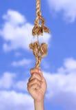Ein hängen Stockfotografie