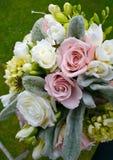 Ein Hochzeitsblumenstrauß Lizenzfreie Stockfotografie