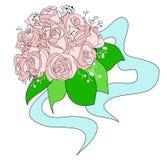 Ein Hochzeitsblumenstrauß Lizenzfreie Stockfotos