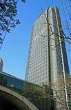 Ein hohes Gebäude Stockfoto
