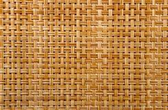 Ein horisontal Bambuszaunhintergrund stockbild