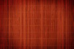 Ein horisontal Bambuszaunhintergrund Stockfotos