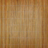 Ein horisontal Bambuszaunhintergrund Lizenzfreie Stockfotos