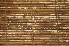 Ein horisontal Bambuszaunhintergrund Lizenzfreie Stockfotografie
