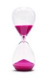 Stunden-Glas lokalisiert auf weißem Hintergrund Lizenzfreie Stockfotos