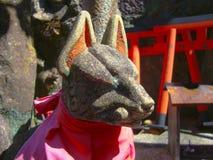 Ein Hund des Steins Stockbild