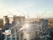 Ein Immobilienentwicklungskonzept Lizenzfreie Stockfotos