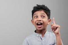 Ein indischer Junge lizenzfreie stockfotografie