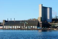 Ein Industriegebiet Stockbilder