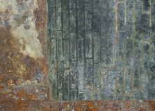 Ein industrieller Hintergrund stockfoto