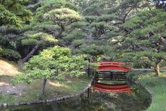 Ein Japaneseâ€- Artgarten Lizenzfreies Stockbild