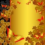 Ein Japanisch-Art Hintergrund stock abbildung
