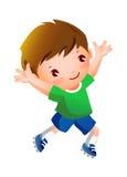 Ein Junge Stockfoto