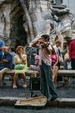 Ein Jungen-Violinist Lizenzfreie Stockbilder