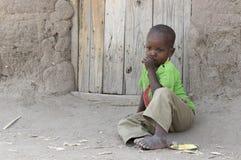 Ein junger ethnischer Junge Lizenzfreies Stockfoto