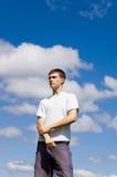 Ein junger Mann. Lizenzfreie Stockfotografie