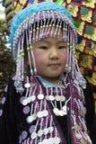 Kind bei Doi Suthep - Chiang Mai - Thailand Stockfoto