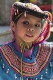Kind bei Doi Suthep - Chiang Mai - Thailand Stockbild