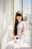 Ein junges Mädchen Stockbilder