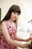 Ein junges Mädchen Lizenzfreie Stockfotografie