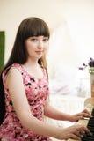 Ein junges Mädchen Lizenzfreie Stockfotos