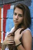 Ein junges Mädchen? Stockfotografie