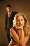 Ein junges Paar Lizenzfreie Stockfotografie