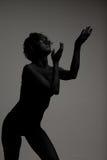 Ein junges weibliches Art und Weisebaumuster Lizenzfreie Stockfotografie