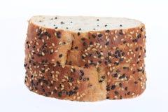 Ein köstliches Brot mit dem indischen Sesam essfertig Lizenzfreies Stockfoto