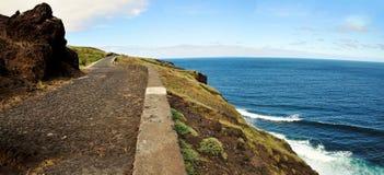 Ein Küstenlinien-Antrieb Lizenzfreie Stockbilder