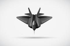 Ein Kampfflugzeug Stockbild