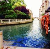 Ein Kanal in Venedig Stockfotografie