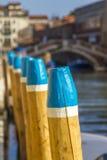 Ein Kanal in Venedig, Italien Lizenzfreies Stockfoto