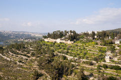 Ein Karem, Gerusalemme immagine stock libera da diritti