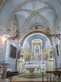 Ein Karem, Israel July 16, 2015 r : Église Jean-Baptist, t Image stock