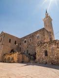 Ein Karem, Israel July 16, 2015 r : Iglesia San Juan Bautista, t Fotografía de archivo libre de regalías