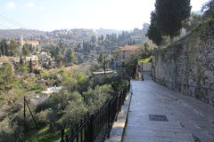 Ein Karem, a small village close to Jerusalem Royalty Free Stock Photography