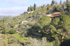 Ein Karem, a small village close to Jerusalem Royalty Free Stock Photo