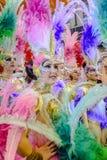 Ein Karneval Mädchen der Ehre von Alicante stockfotos