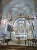 Ein Karo, Izrael Lipiec 16, 2015 r : Kościół John baptysta, t Zdjęcie Stock