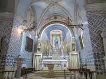 Ein Karo, Izrael Lipiec 16, 2015 r : Kościół John baptysta, t Fotografia Royalty Free