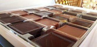 Ein Kasten Schokolade lizenzfreies stockfoto