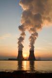 Ein Kernkraftplan Lizenzfreie Stockfotografie